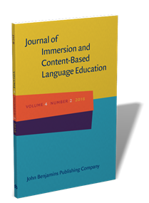 Journal of Immersion and Content-Based Language Education